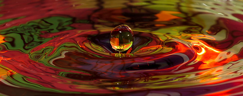 photoblog image Water drop